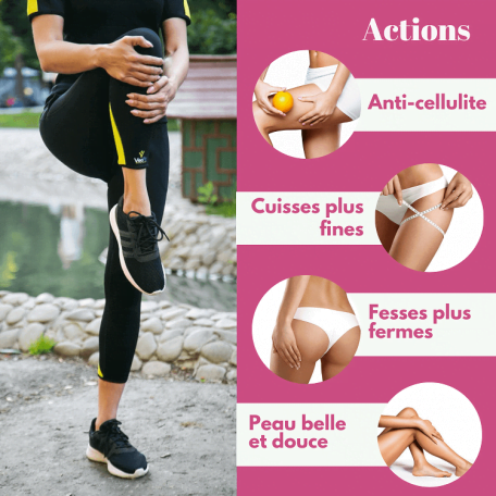pantalon legging anti cellulite