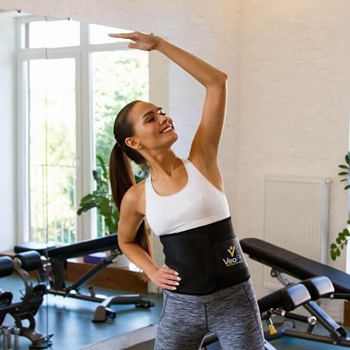 ceinture sudation veofit femme fitness