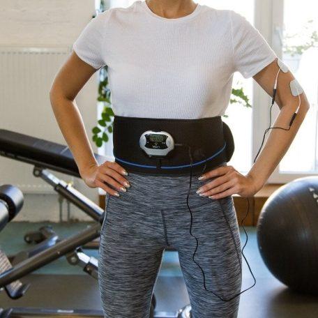 ceinture emsélectrostimulation veoift se muscler le ventre  les bras cuisses