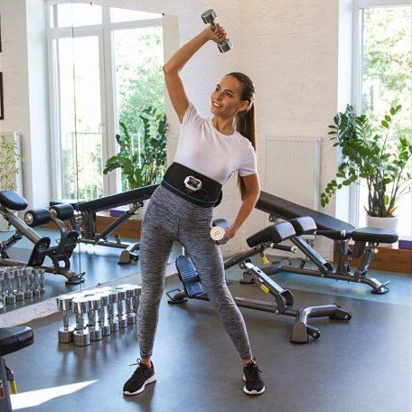 ceinture emsélectrostimulation veoift gym en forme sport