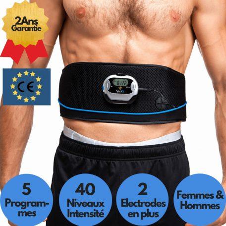 ceinture ems électrostimulation durable efficace