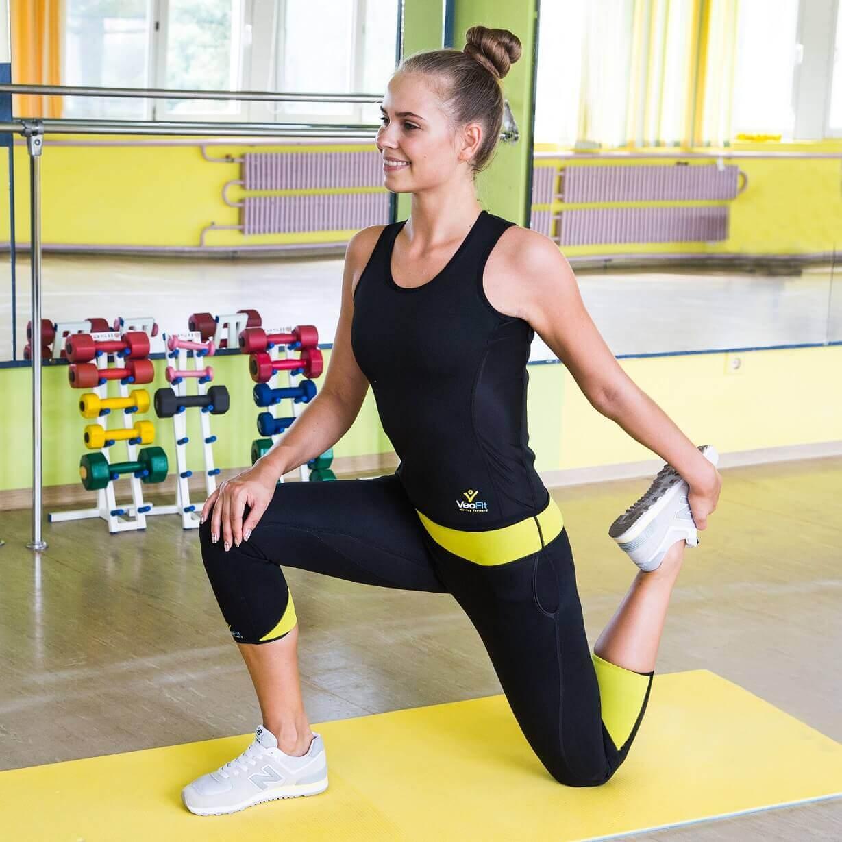 débardeur pantalon sudation sport pilates yoga bouger courir
