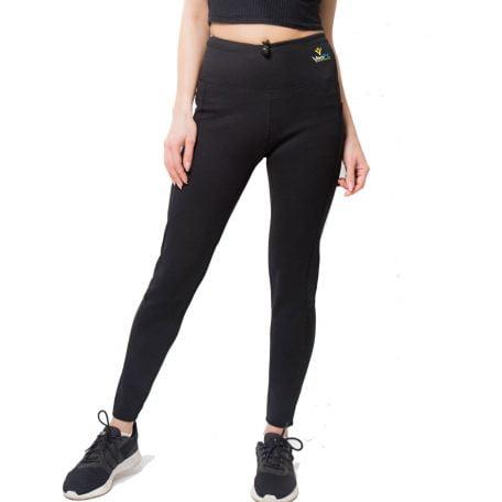 veofit pantalon de sudation modèle air black meilleur sauna shaper