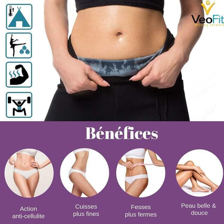 veofit bénéfices pantalon sudation perte de poids
