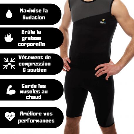 short de sudation homme pour maigrir