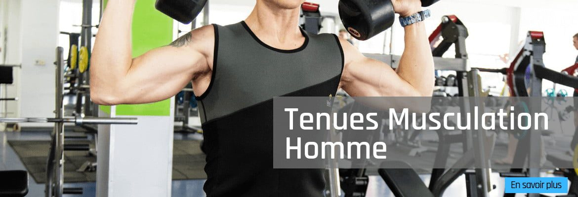 tenues musculation homme veofit france