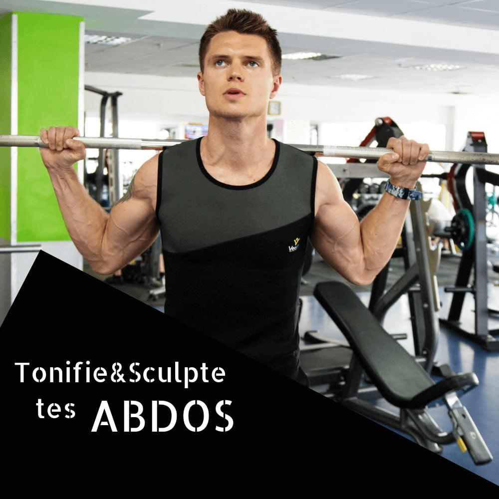 top-sudation-homme-abdos-veofit