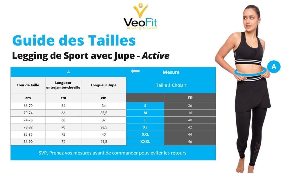FR-size chart legging Active